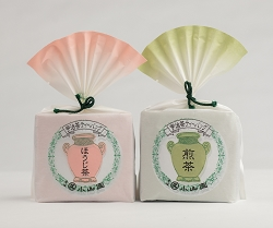 SENCHA and HOJICHA tea bag set
