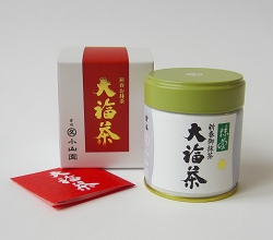 OBUKUCHA (early December to early January) seasonal matcha