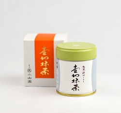 TSUBOKIRI (early October to mid-November) seasonal matcha