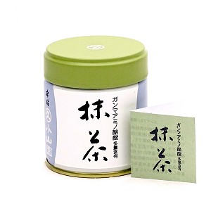 GABARON matcha; high content GABA (gamma-aminobutyric acid) matcha available only in 40 gram size